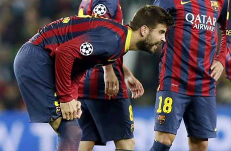 Pique no jugará la Final de la Copa del Rey 2014