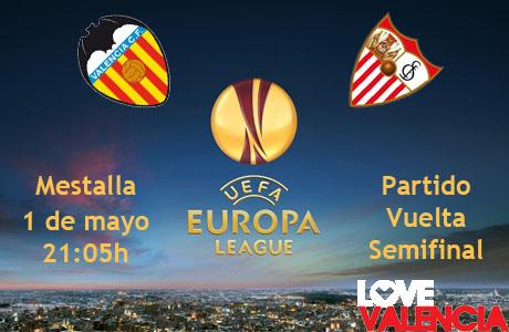 Valencia CF - Sevilla FC, semifinal UEFA Europa League 2014