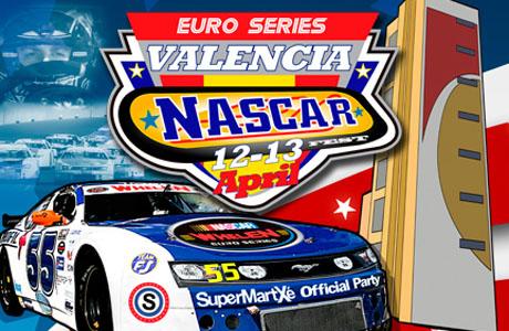 Valencia euro NASCAR Fest del 12 al 13 de abril en el Circuito Ricardo Tormo