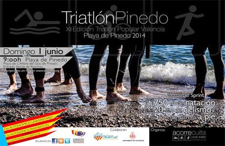 XII Triatlón Popular Valencia - Pinedo
