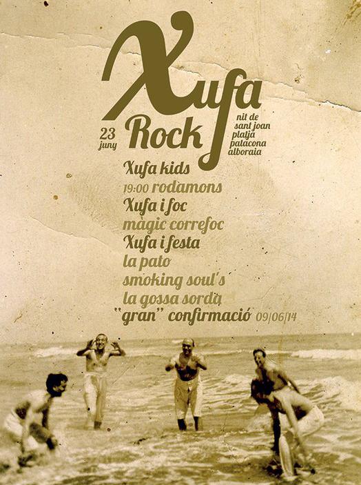 XUFA ROCK 2014_ cartel