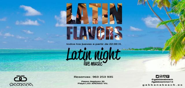Latin Flavors Gabbana Beach Valencia