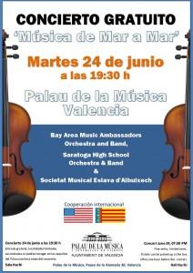 alau de la Musica Valencia June 24