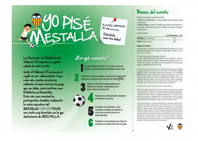 Yo pise el Mestalla Valencia CF