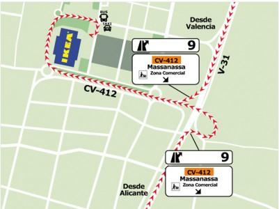 mapa IKEA