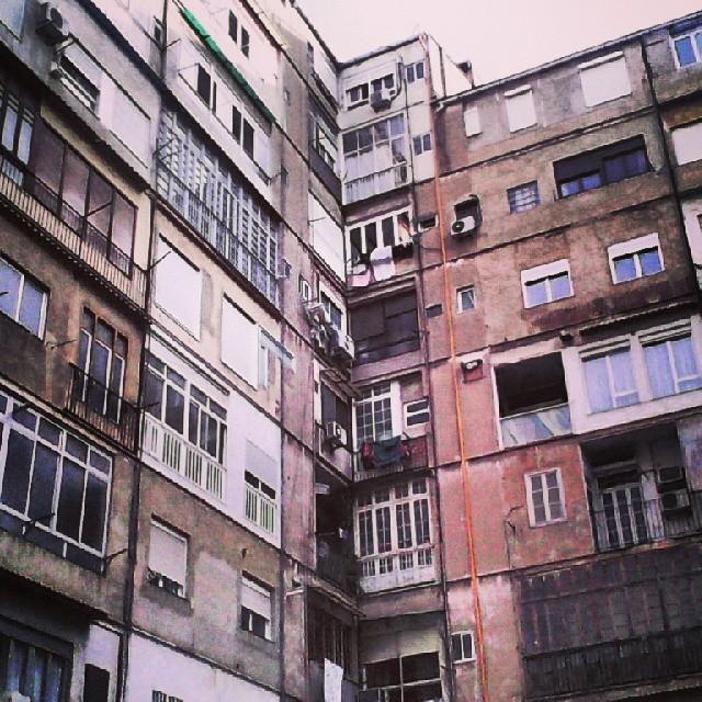 #fotomovil_es #deslunado #patiodeluces #parking #valenciagram #finca # edificio