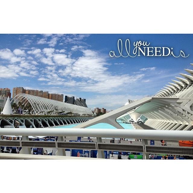 ???? #Valencia #LoveValencia #HastaElMesQueViene #FindesValencianos #CAC #CiudadDeLasArtesYLasCiencias #Calatrava #Family #Friends