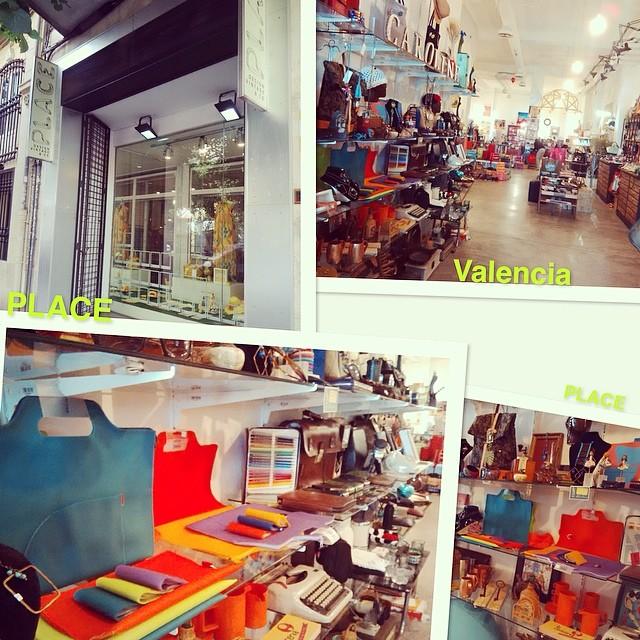 Nuevo punto en #valencia PLACE en la calle Cirilo Amoros, 24.Gran selección de productos, colecciones para todos. #byras #complementos #coloresRas #loveValencia #tiendasras