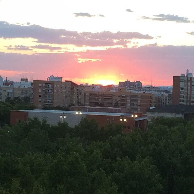 Valencian sunset #lovevalencia #orriols
