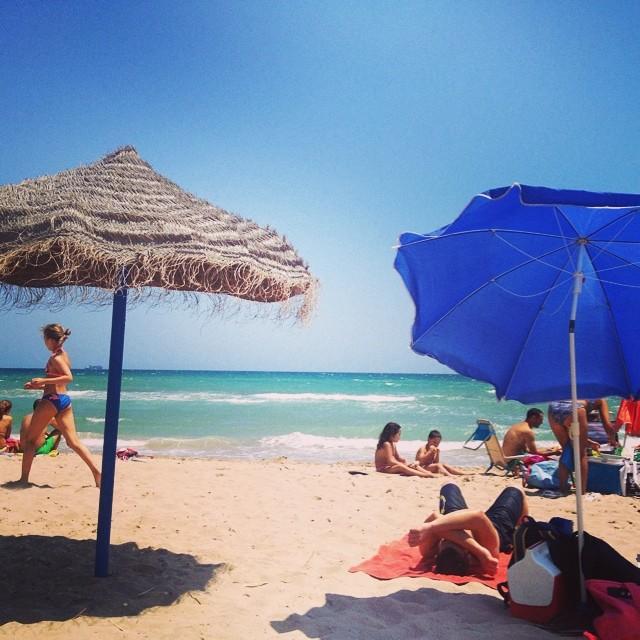 El saler #playa#saler#albufera#mar#valencia#valenciagram#valenciaenamora#lovevalencia#follow#followback#sol#verano