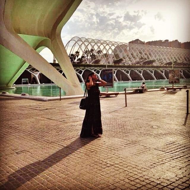 Calatrava beauty #love#ciudad#ciencias#calatrava#arts#palau#valencia#valenciagram#lovevalencia#shots#sunday#domingo#porlatarde#follow#followback