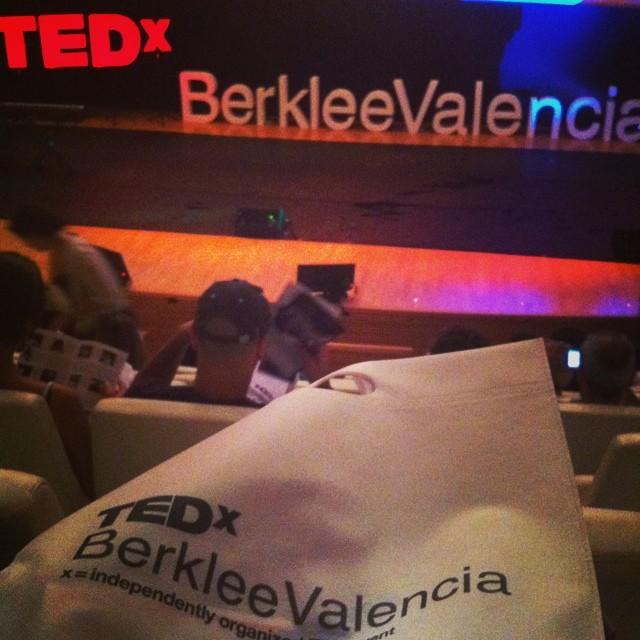 Preparado para disfrutar mi segundo TEDx ???? #TEDxBerklee #valencia #lovevalencia #igersvalencia