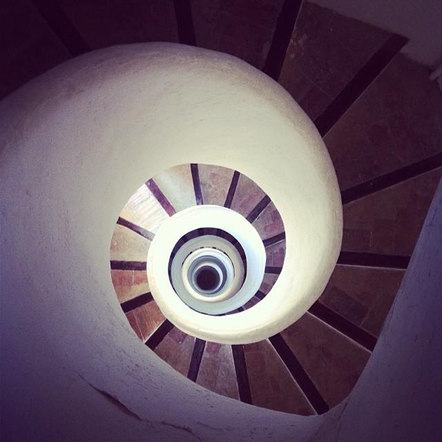 Escalera de santa Catalina, Valencia.