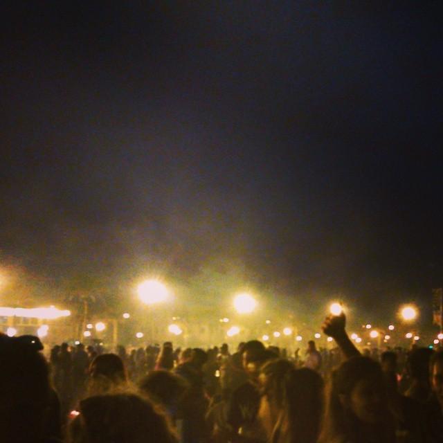 Así empieza la noche de San Juan en Valencia... #lovevalencia #sanjuan #lanochemaslargadelaño