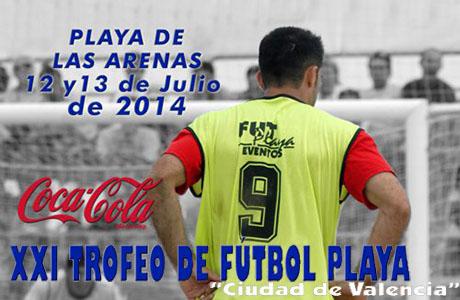 XXI Trofeo de fútbol playa Ciudad de Valencia