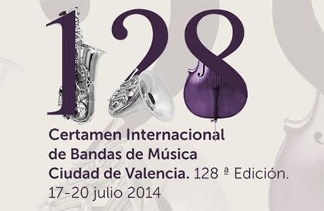 128 Certamen Internacional Bandas de Música Ciudad de Valencia