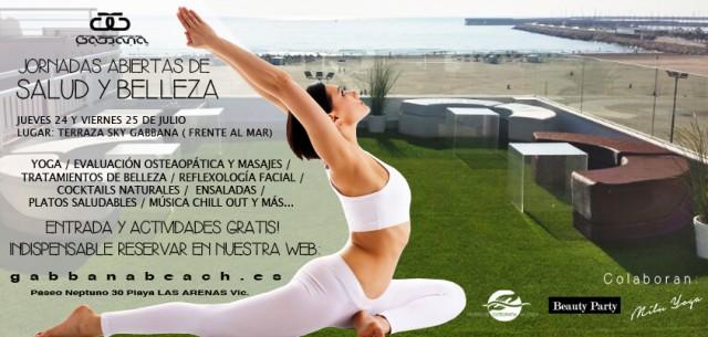 Jornadas de salud y belleza en Gabbana Beach