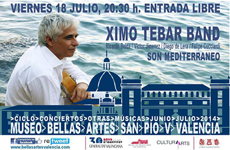 Concierto Ximo Tébar Band
