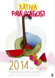 Fira d'Agost Xàtiva 2014