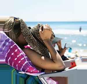 Tomar el sol precauciones playas