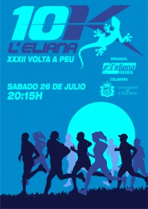 XXXII Volta a Peu a L'Eliana 2014 Cartel