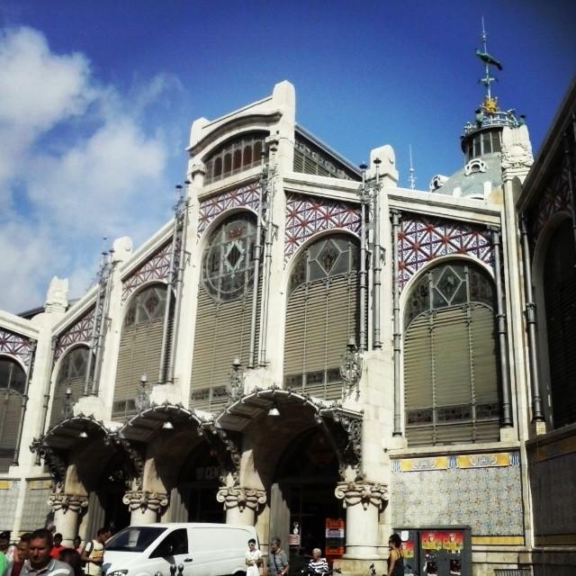 On a jalapeño search at the central market. #Valencia @envalencia #loveValencia #markets #Spain #food #Travel #vlc #mercadocentral