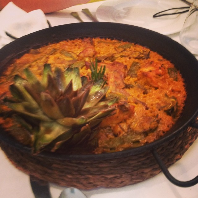 Paella bis #doble#paella#valencià#valencia#lovevalencia#navarro#epicsummer#valenciagram#foodporn#food#comida#follow#followback