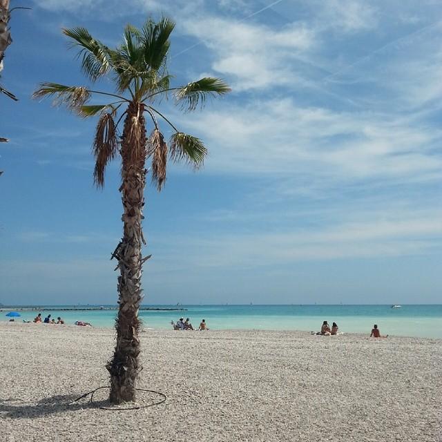 Playa els terrers en Benicassim un caribe cercano.
