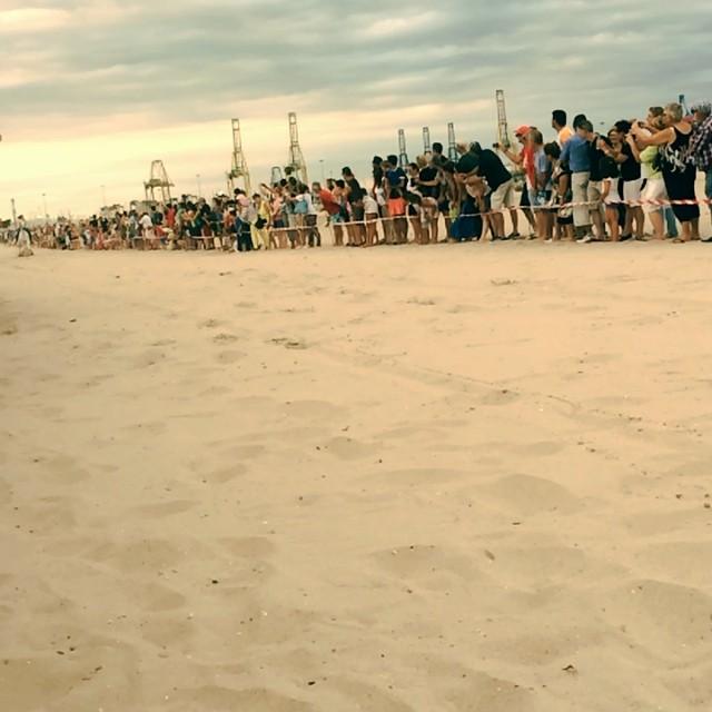 """""""Corregudes de joies"""" a la platja de Pinedo #Valencia #Albufera #lovevalencia"""