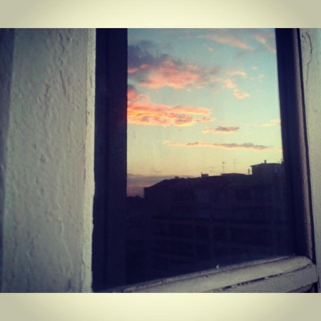 Amo la luce dei tramonti Valenciani