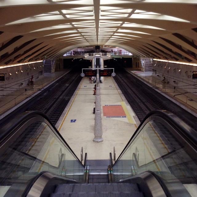 Metro...#metro#estacionalameda#valencia#lovevalencia#vias#españa#estacion#spain#meliana