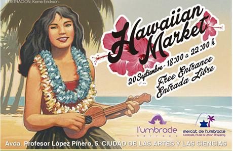 HawaiianMarket- en Umbracle Valencia