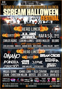 cartel-Scream-Halloween-Festival