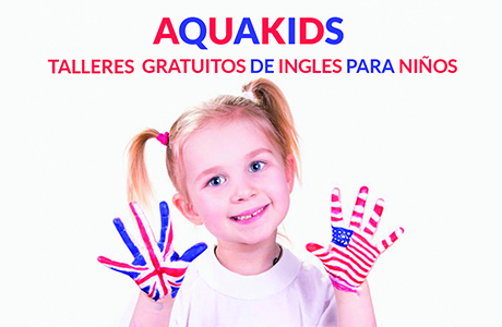 Aqua Kids Talleres De Ingles Gratuitos Para Niños