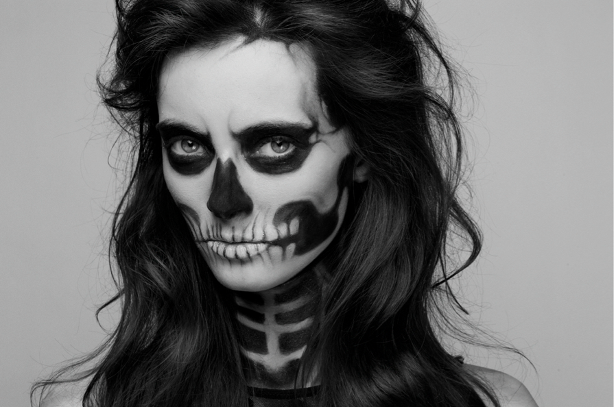 Maquillaje para halloween love valencia - Pintura cara halloween ...