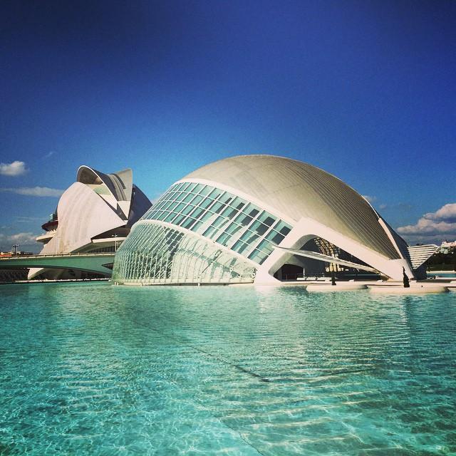 Ciudad de las Artes y Ciencias #lovevalencia