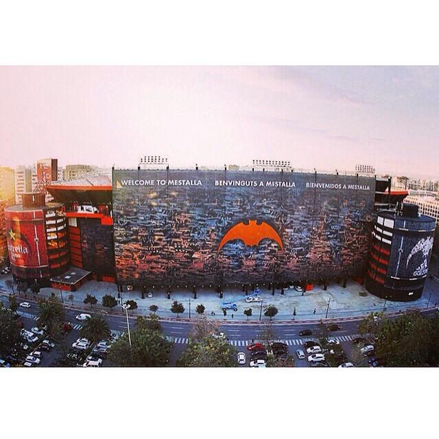 El renovado Estadio de #Mestalla #LoveValencia #Valencia