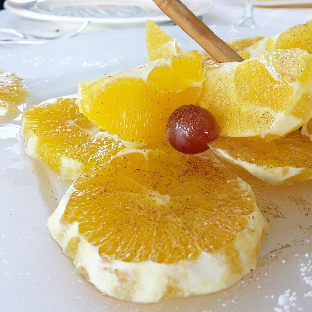 #Arroceando en el @RteElRek naranja preparada (con canela) #culturagastronomica #Valencia #lovevalencia #unaagendaconestilo #tradicion #sabor #origen