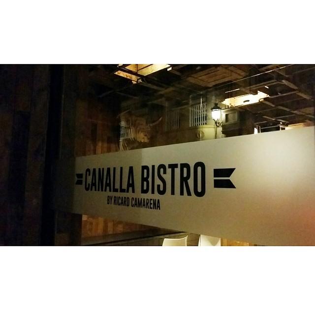 Canalla... #food #pornfood #dinner #friends #gooddinner #lovewine #lovevalencia