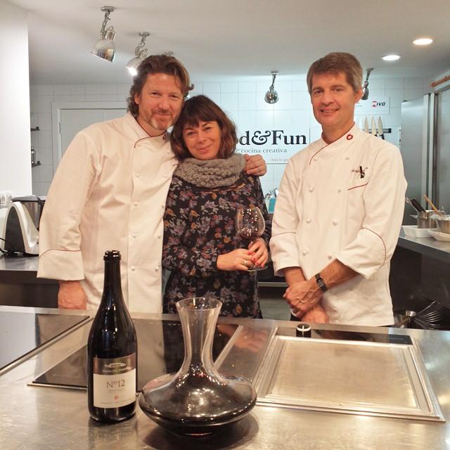 [ Eventos Food&Fun ]  Durante dos días hemos contado con la presencia de dos grandes chefs, Simon Coulthard y Bernhard Alin. Ha sido un verdadero lujo aprender de ellos junto a Givaudan.  #foodandfun #foodandfunvlc #eventosFoodAndFun #cocinarconamigosesmasdivertido #cursococinaValencia #cursosdecocina #Valencia #lovevalencia #unaagendaconestilo #cocinar #recetas #cooking #friends #CookingCommunity