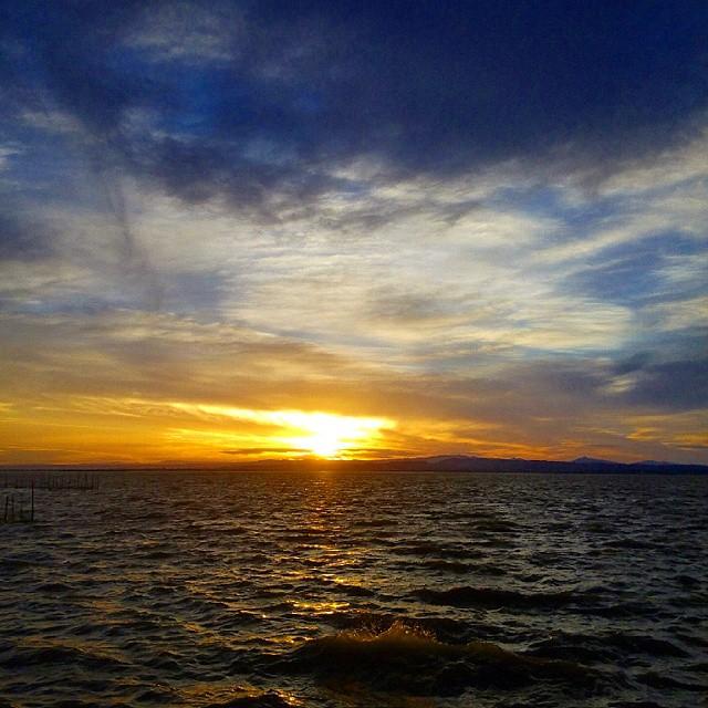 Atardecer es fantásticos #valenciaturismo #valenciaenamora #valencia #valenciaterraimar #valenciamola #valenciagram #albufera #lago #ig_europe #igersvalencia #igerscomunitat #ig_spain #like4like #cloudstagram #cloudporn #clouds #cloud #sunset #twilight #bestofinstagram #lovevalencia #water #instamood #picoftheday