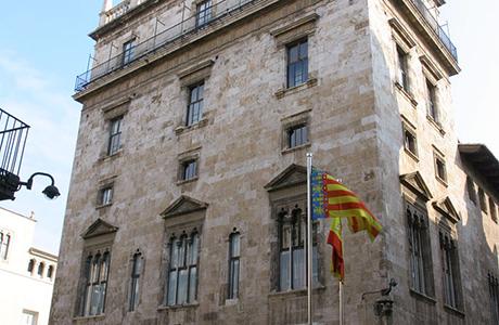 Palau de la Generalitat Valencia