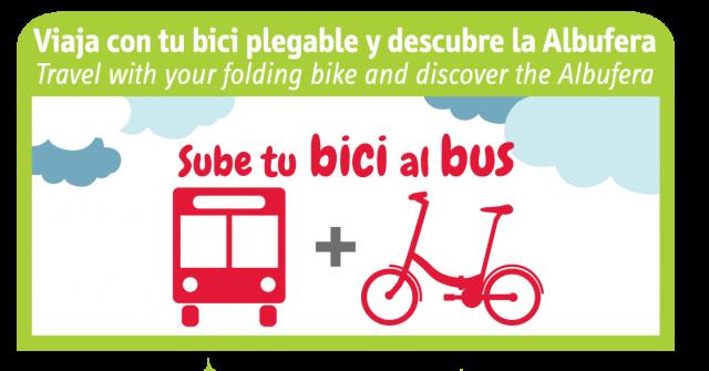 Sube en bici al bus