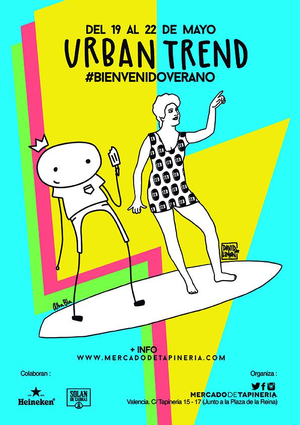 Quinta edición urban trend tapineria valencia