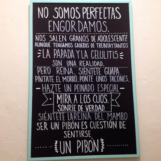 Ser un pibón es cuestión de sentirse un pibón #elalmacen #valencia #ruzafa #lovevalencia