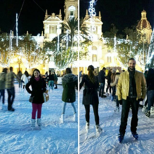 Pista de patinaje sobre hielo en Valencia! #lovevalencia #valenciacity #valencia #valenciaterraimar #valenciagram #iceskating #ajuntamentdevalencia #ajuntament #ayuntamientodevalencia #ayuntamiento #spain #españa #christmas
