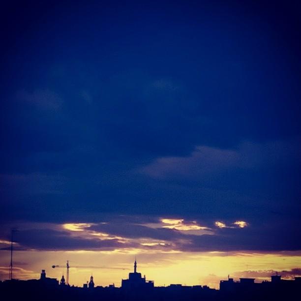 #Micalet #Valencia #Beautiful #views #ILoveIt #rain #grey #clouds #sky #HappyMonday #lovevalencia