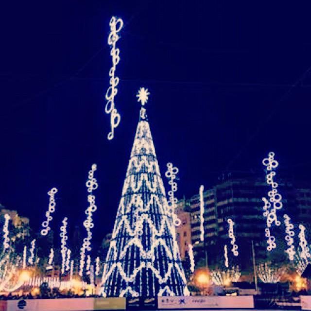 #navidad  #nadal que bonica es ,las luces le sirven de adorno a su belleza #lovevalencia