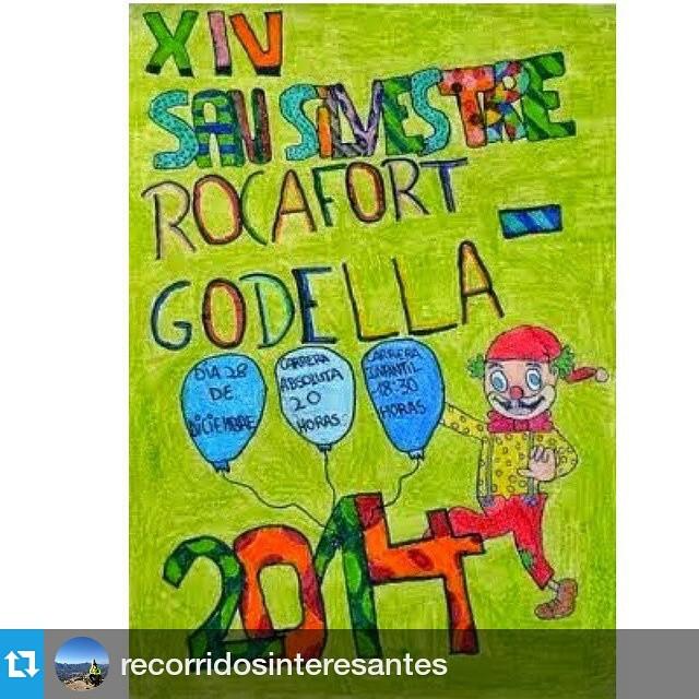 #Repost @recorridosinteresantes ??? #Sansilvestrerocafort #rocafortrunning #lovevalencia #loverocafort #running #runners #godella #rocafort  #comunitatvalenciana