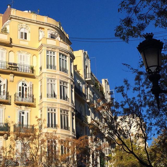 My home!!!! #Valencia #lovevalencia #color #street #canovas #ensanche #home
